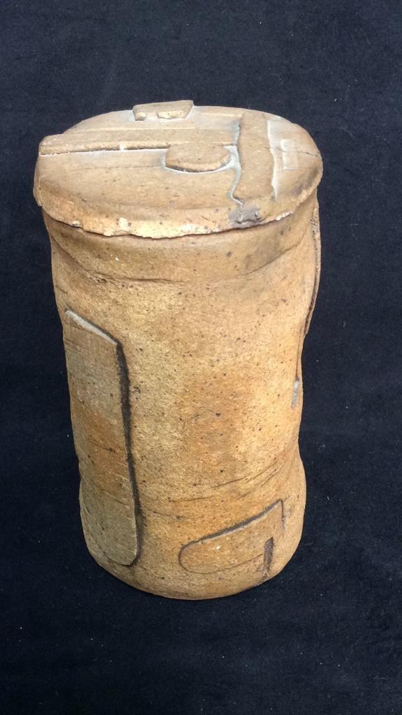 Richard Zakin Ceramic Lidded Vase - 3