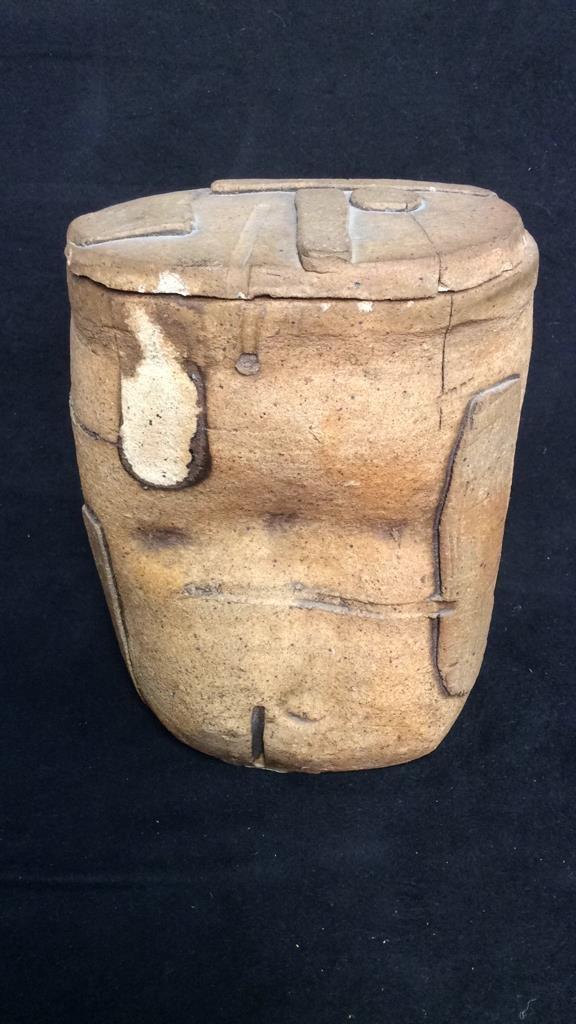 Richard Zakin Ceramic Lidded Vase - 4