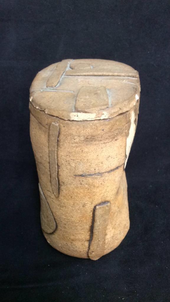 Richard Zakin Ceramic Lidded Vase - 5