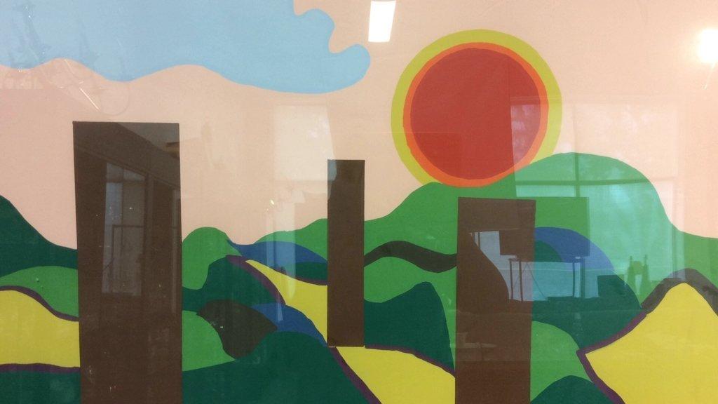Framed Acrylic Pop Art painting - 2