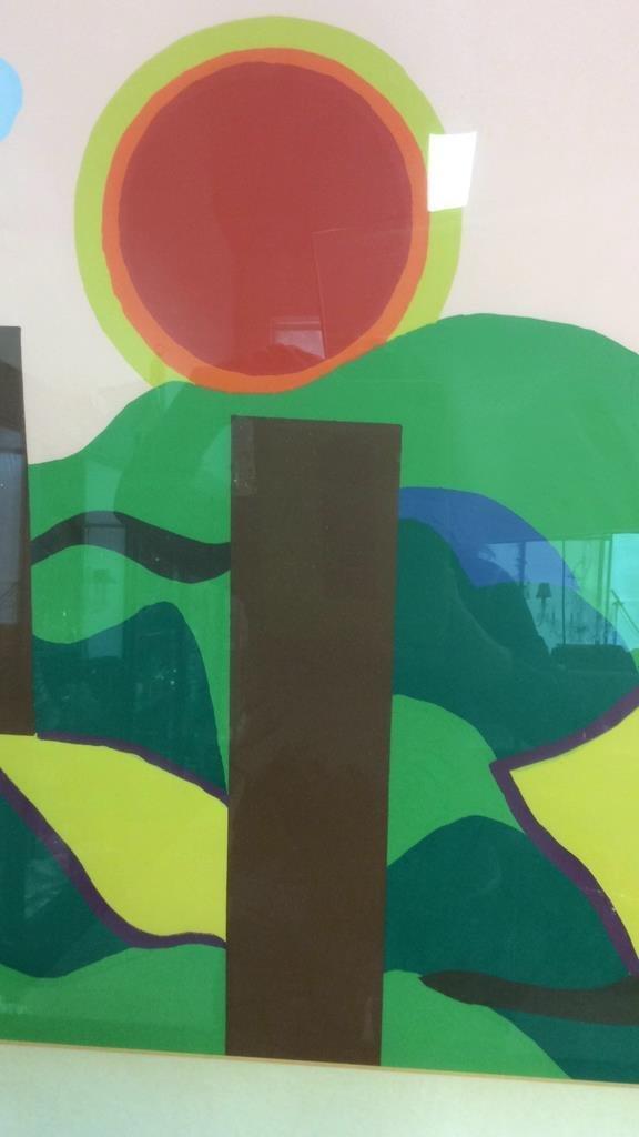 Framed Acrylic Pop Art painting - 4