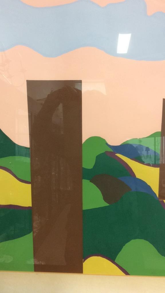 Framed Acrylic Pop Art painting - 5