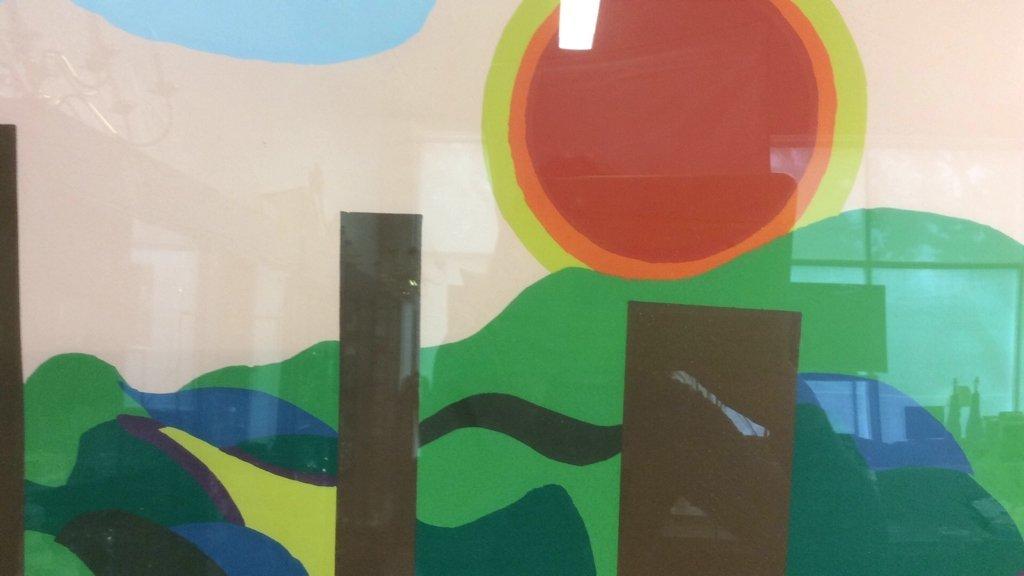 Framed Acrylic Pop Art painting - 6
