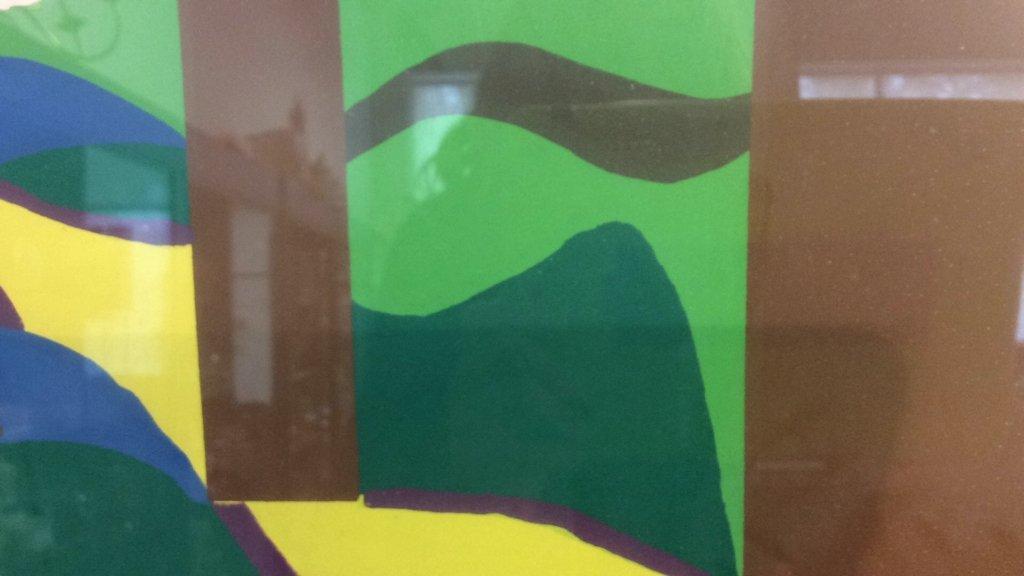 Framed Acrylic Pop Art painting - 7