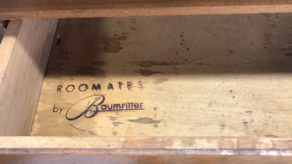 Vintage BAUMRITTER Mid Century Modern Cabinet - 2