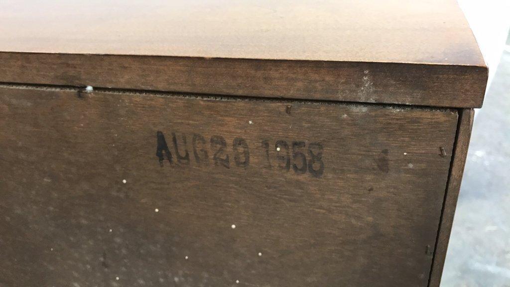 Vintage BAUMRITTER Mid Century Modern Cabinet - 6