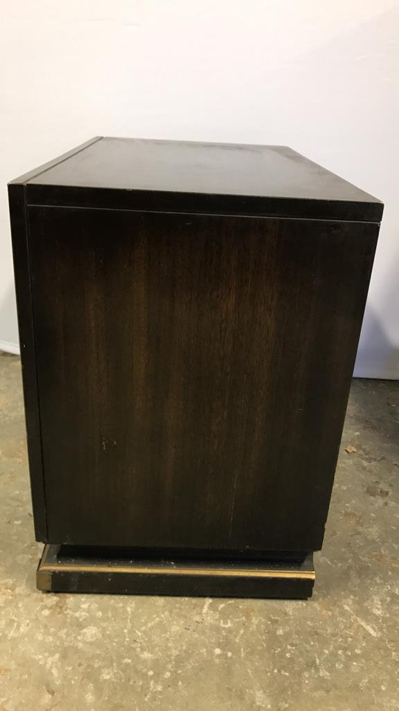 Vintage AMERICAN Mahogany Campaign Chest - 8