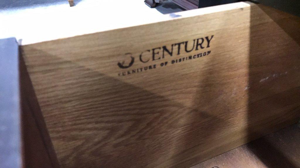 CENTURY Glass Wood Display Cabinet - 3