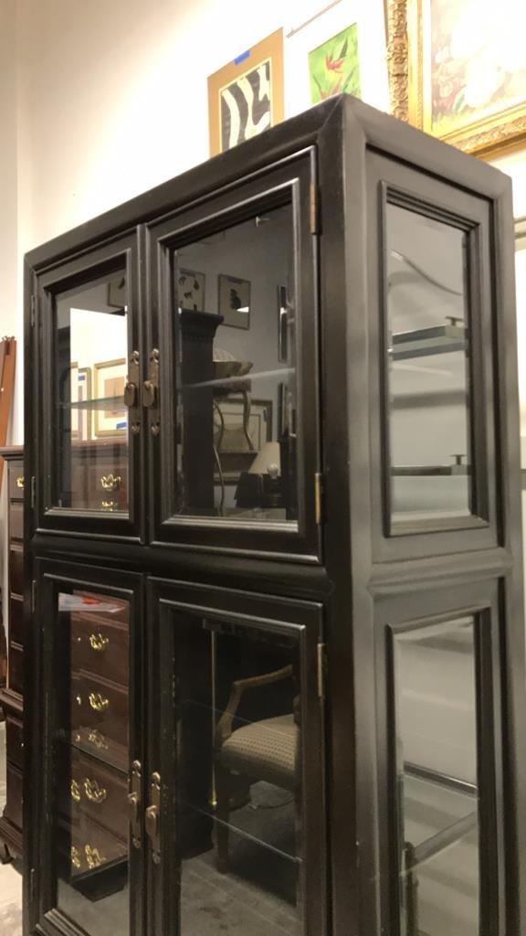 CENTURY Glass Wood Display Cabinet - 6
