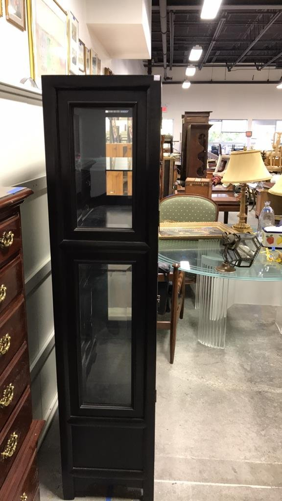 CENTURY Glass Wood Display Cabinet - 7