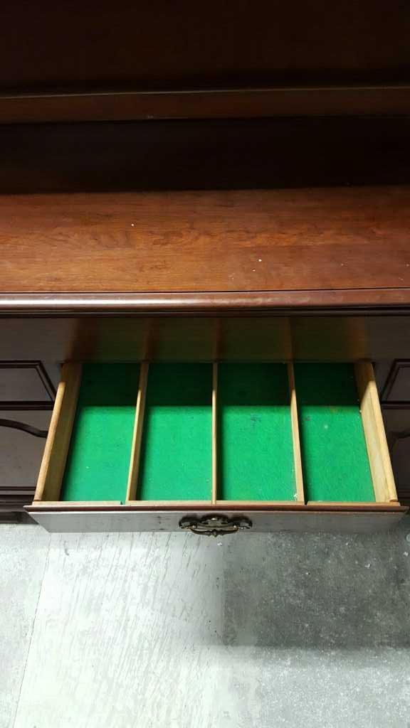 Vintage Console with Hutch - 10