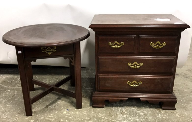 Set Complementary End or Side Tables