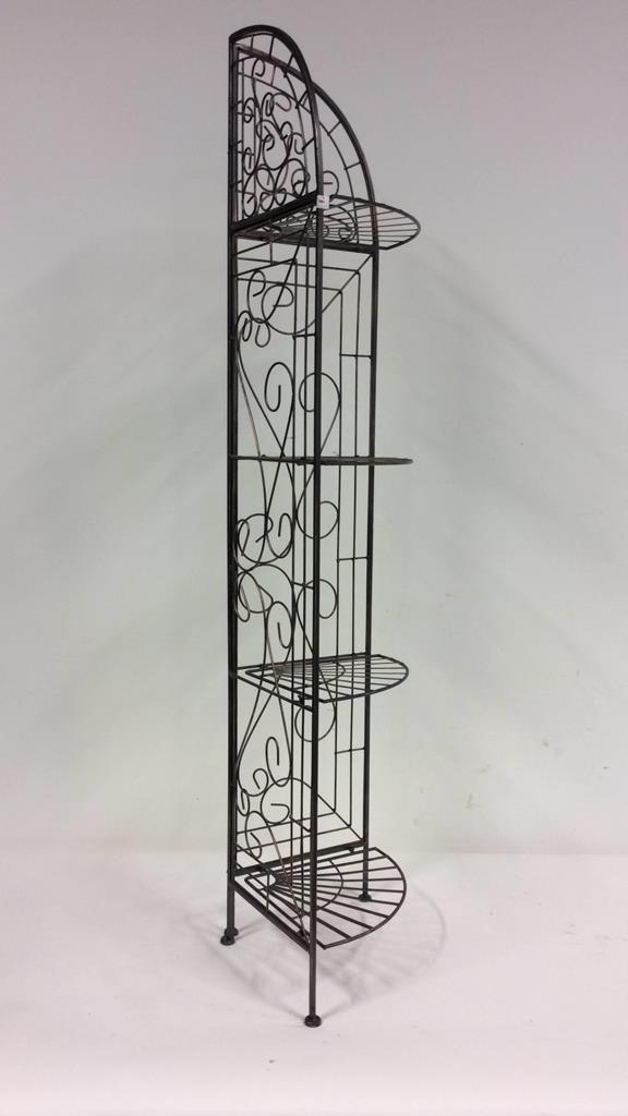 Tuscan Fan Design Portable Whatnot Shelf - 2