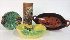 Group 4 Signed Pottery Works