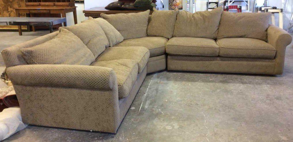 Mccreary Modern Custom Sectional Sofa, Mccreary Modern Furniture