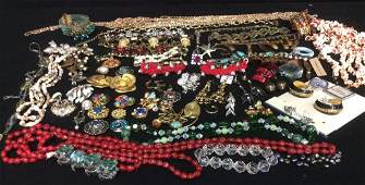 Group Vintage And Costume Jewelry