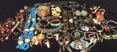 Group Lot Big Bold Ethnic Style Jewelry