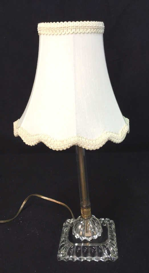 Vintage Candlestick Table Lamp