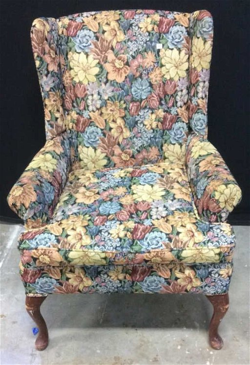 Hickory Hill Upholstered Wing Chair