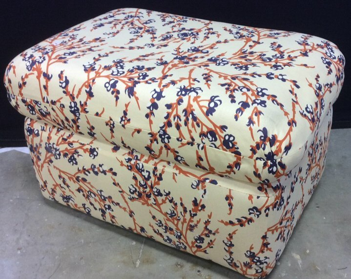 Upholstered Ottoman Hassock