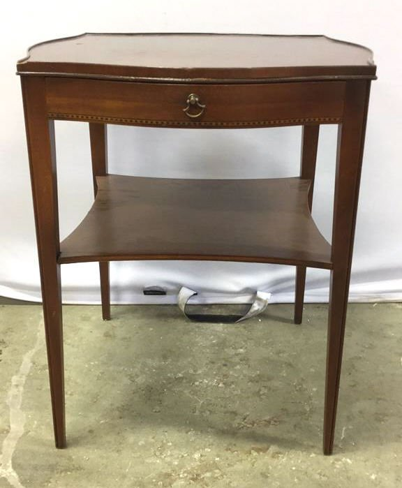 Vintage Midcentury Side End Occasional Table