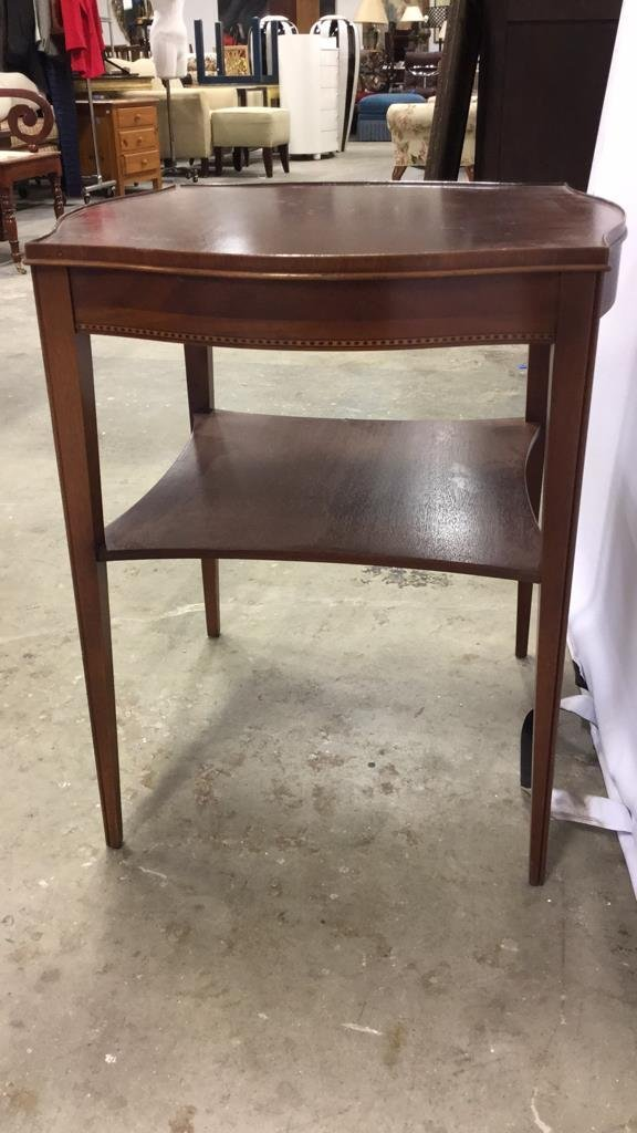 Vintage Midcentury Side End Occasional Table - 2