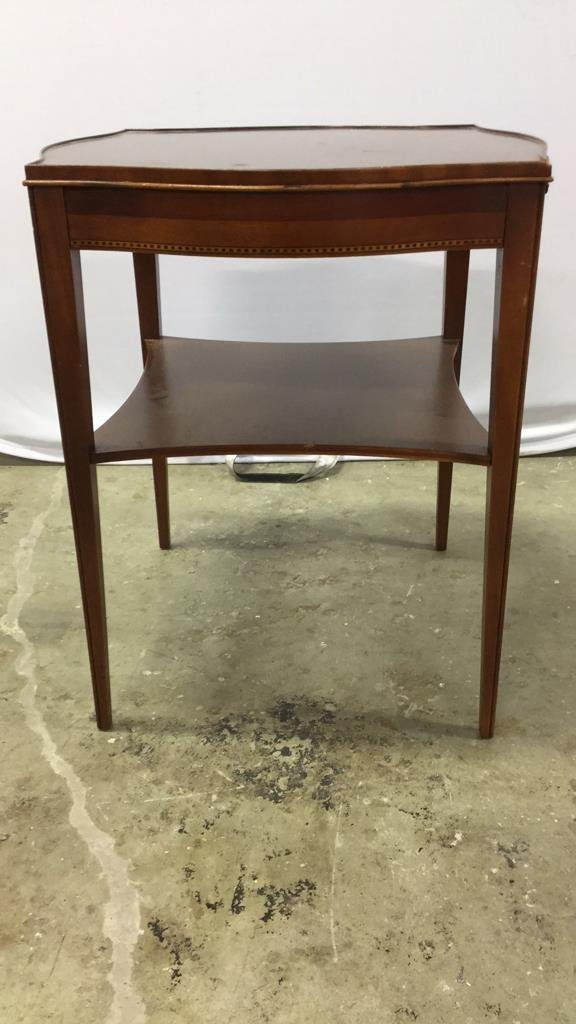 Vintage Midcentury Side End Occasional Table - 3