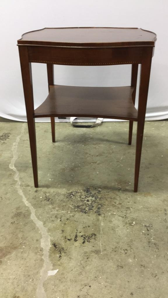 Vintage Midcentury Side End Occasional Table - 4