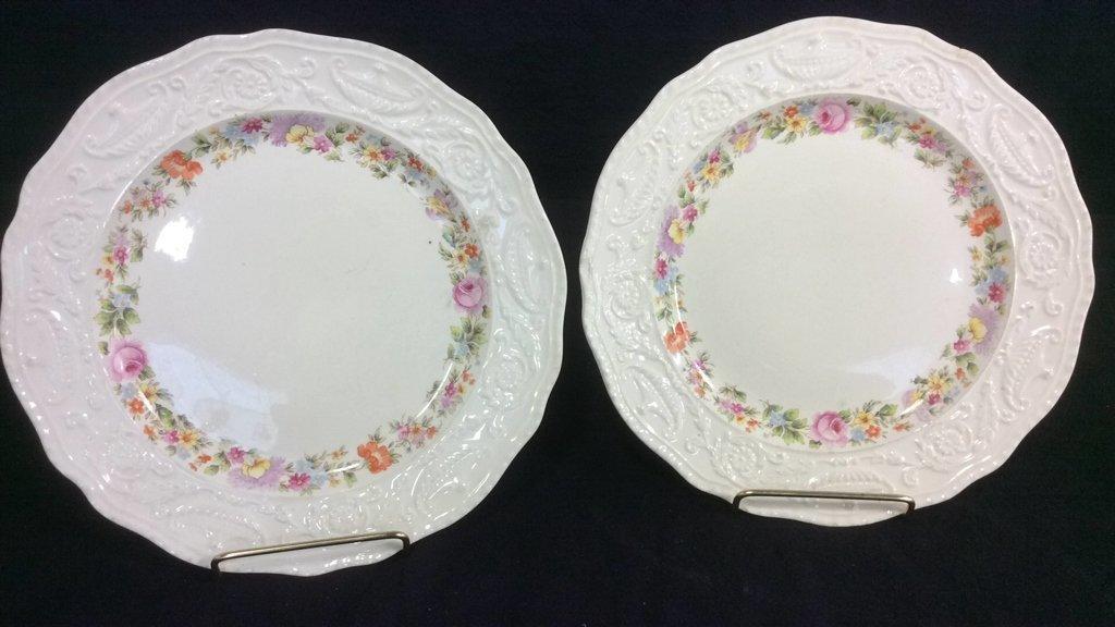 Group Lot Signed Antique Vintage Porcelain - 5