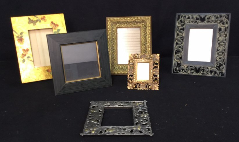 Group Lot Of Assorted Picture Frames