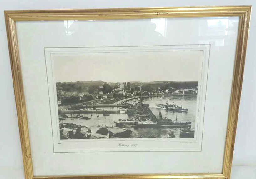 Rothesay Waterfront Print 1897