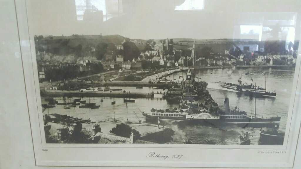 Rothesay Waterfront Print 1897 - 2