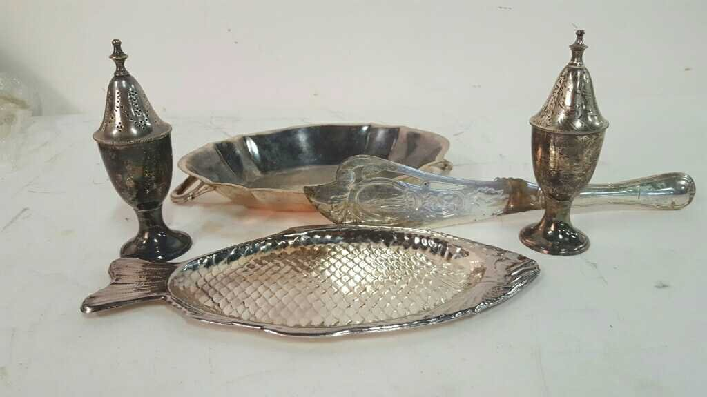 Silver Plated Dining Accessories - 2