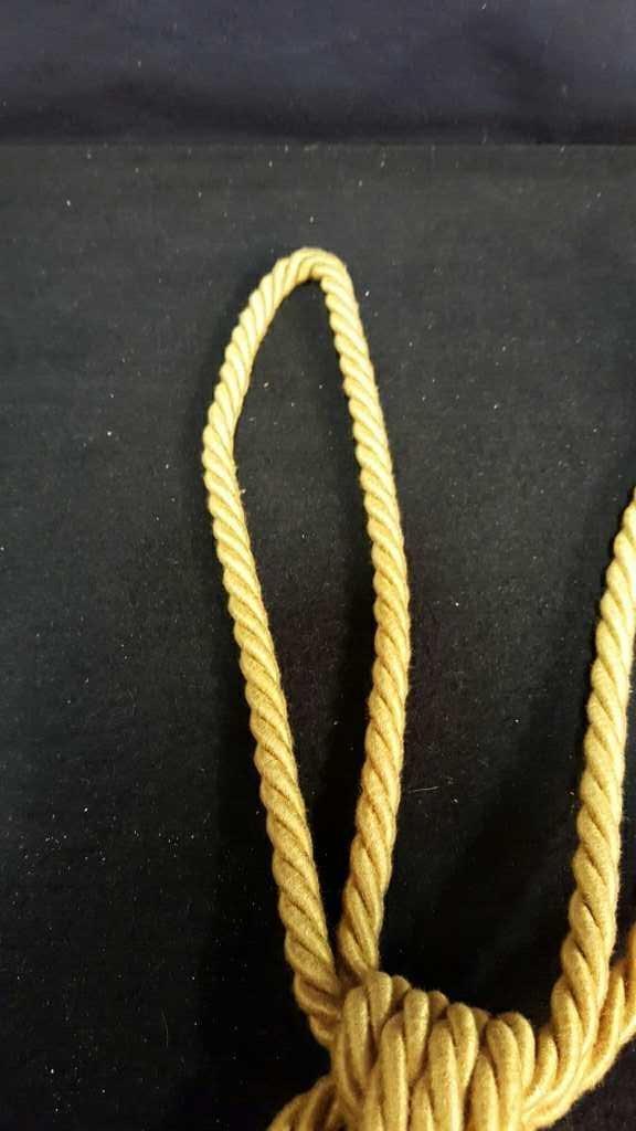 Two Gold Silk Tassels - 5
