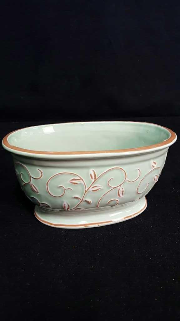 Two Ceramic Planters - 2