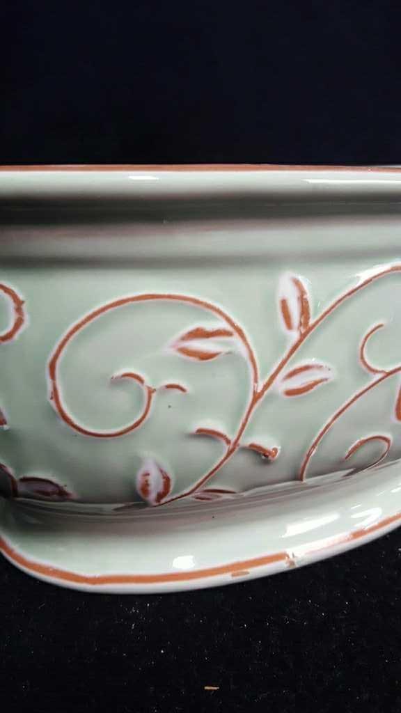 Two Ceramic Planters - 3