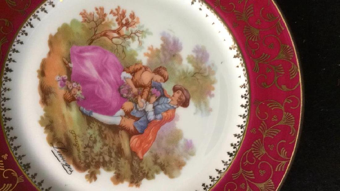 Assorted Collectible Limoges Plates & More - 6