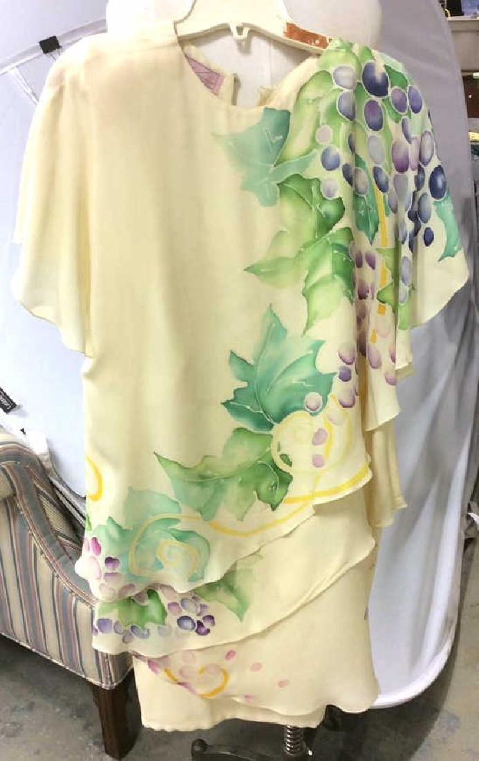 Two Piece Vi Tate Cream Tiered Layered Dress