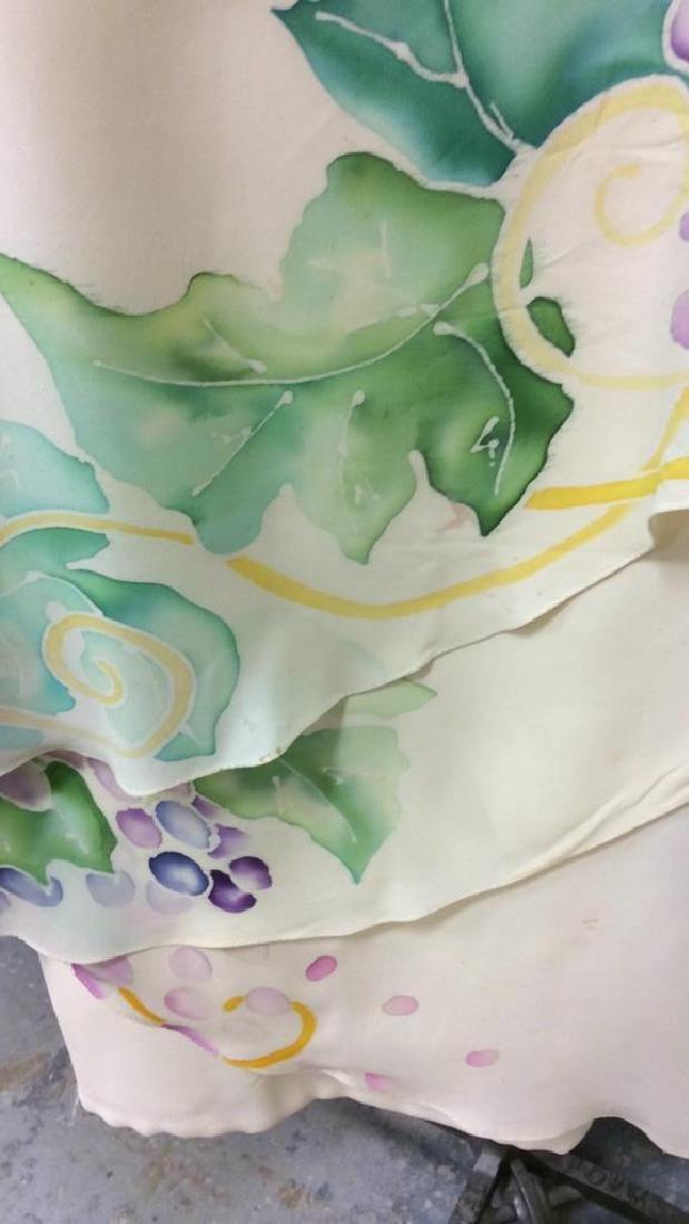 Two Piece Vi Tate Cream Tiered Layered Dress - 2