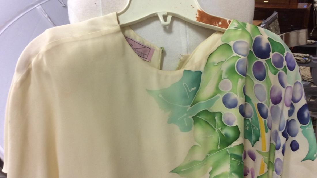 Two Piece Vi Tate Cream Tiered Layered Dress - 3