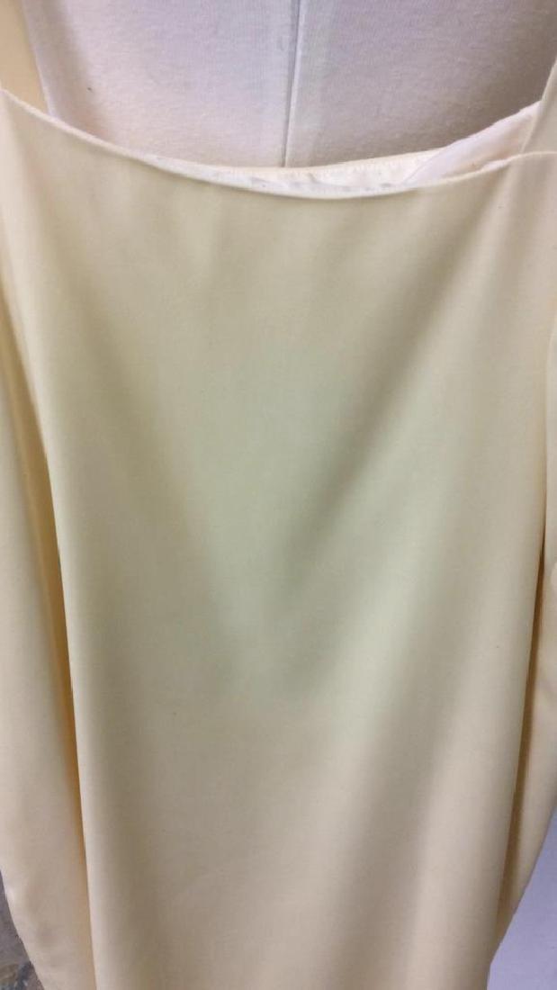 Two Piece Vi Tate Cream Tiered Layered Dress - 7
