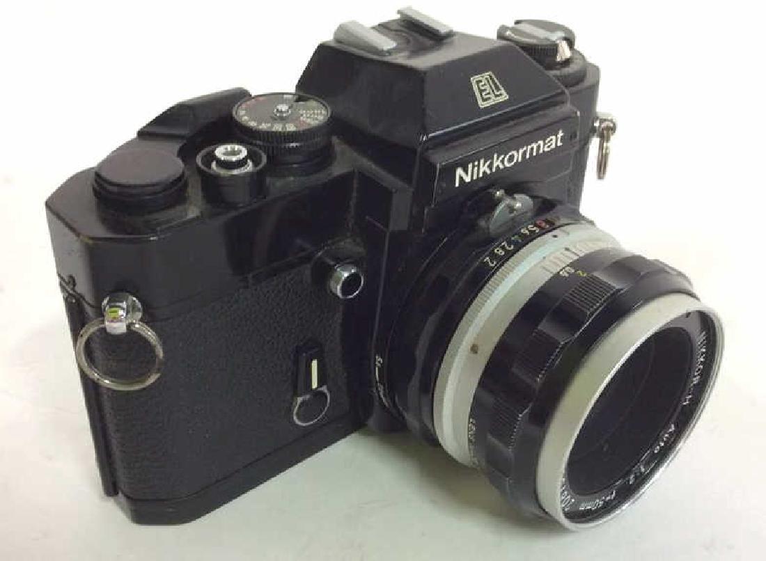 Nikkormat EL Camera With Lens