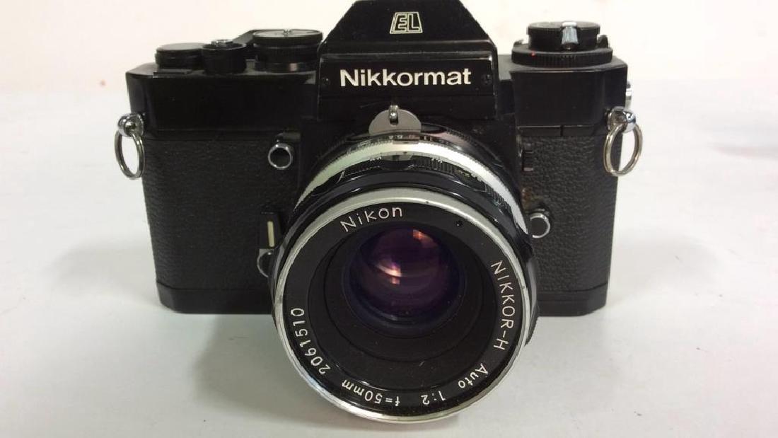 Nikkormat EL Camera With Lens - 2