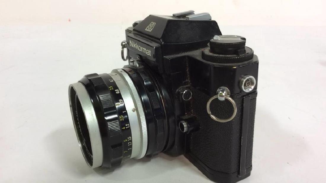 Nikkormat EL Camera With Lens - 3