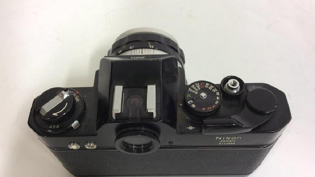 Nikkormat EL Camera With Lens - 5