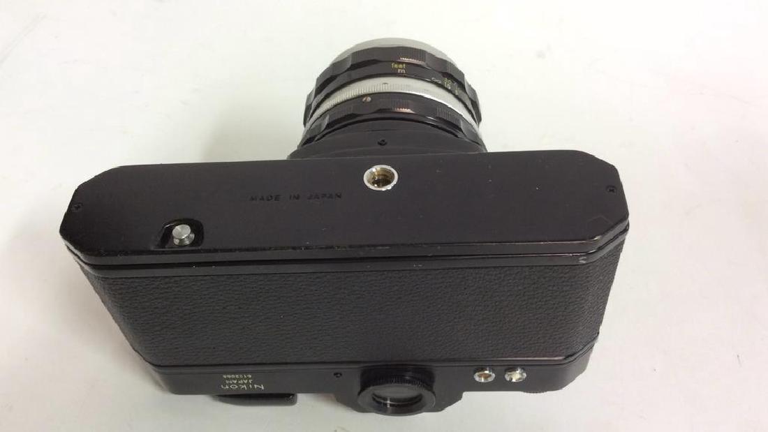 Nikkormat EL Camera With Lens - 6