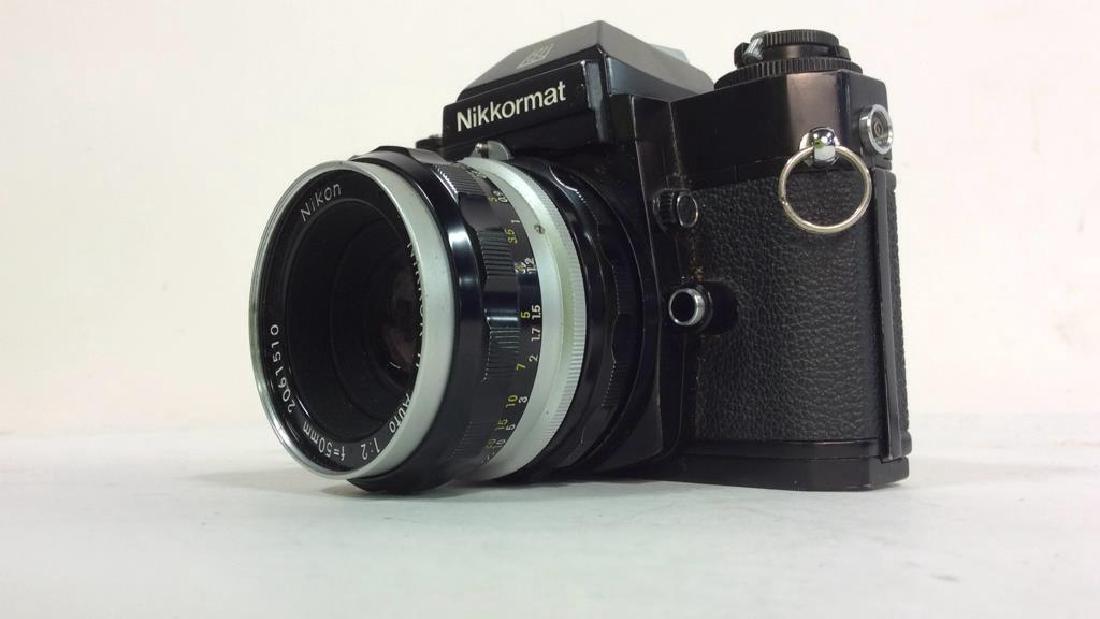 Nikkormat EL Camera With Lens - 7