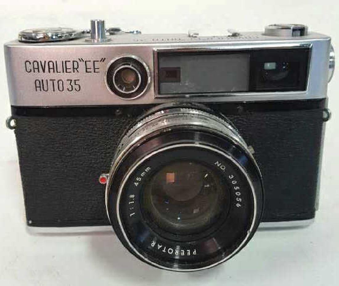"Cavalier ""EE"" Auto 35 Camera With Lens"