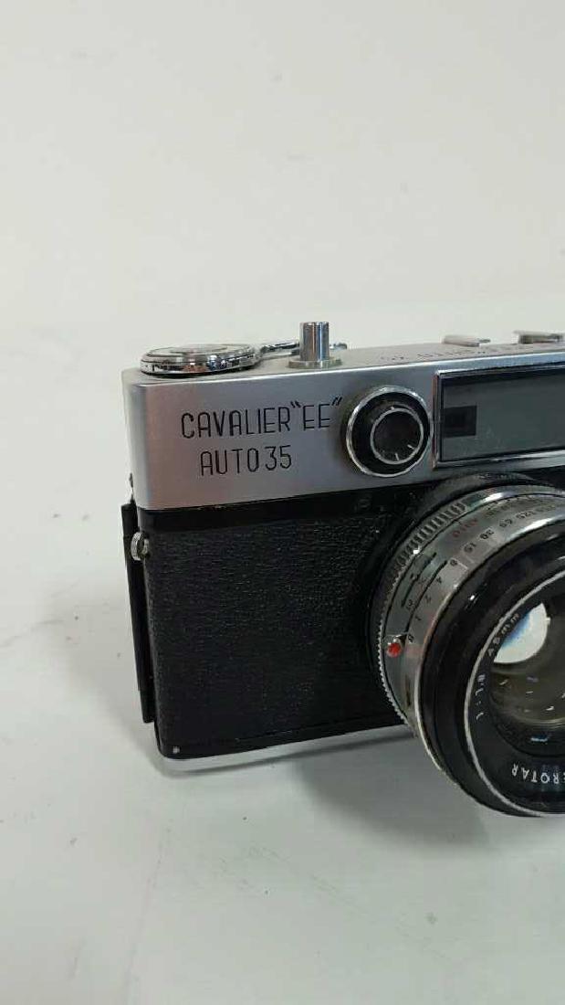 "Cavalier ""EE"" Auto 35 Camera With Lens - 2"