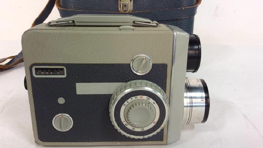 Eumig C5 Movie Camera With Case - 3